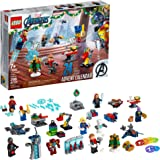 LEGO Marvel The Avengers Advent Calendar 76196 Building Kit, an Awesome Gift for Fans of Super Hero Building Toys; New 2021 (