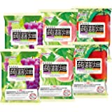 【定番 】 マンナンライフ 蒟蒻畑 3種 ぶどう味・白桃味・りんご味(25g×12個) 各2袋 合計72個