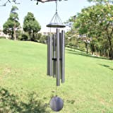 ASTARIN Wind Chimes Outdoor Deep Tone,45-Inch Memorial Wind Chimes Large with 6 Heavy Tubes,Amazing Grace Wind Chimes Outdoor