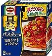 キッコーマン食品 デルモンテ 具Tanto パスタソース 完熟トマト&バジル 340g ×6個
