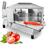 """Happybuy Commercial Tomato Slicer 3/16"""" Heavy Duty Cutter with Built-in Cutting Board for Restaurant or Home Use"""