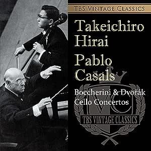 TBS Vintage Classics ボッケリーニ&ドヴォルザーク:チェロ協奏曲
