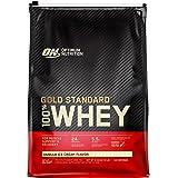 Optimum Nutrition Gold Standard 100% Whey Protein Powder, Vanilla Ice Cream, 4.55 Kilograms