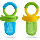 Munchkin Fresh Food Feeder, Blue/Green, (Pack of 2)