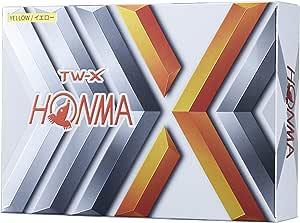 本間ゴルフ ゴルフボール TW-X BT1908 1ダース 12個入り