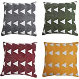 Designer Cushion Pillow Cover Pack of 4 of 45X45