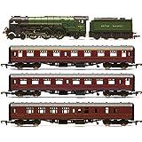 Hornby R3828 British Railways, 60163 Tornado The Aberdonian Train Pack - Era 11 Locomotive - Steam