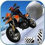 Snow Storm Moto Avalanche: Mountain Bike Climbing