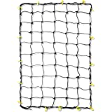 Tooluxe 50969L Premium 36-Inch x 60-Inch Cargo Net with 16 Adjustable Hooks Stretches to 60-Inch x 90-Inch