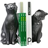 Danya B. Cat Bookend Set Black