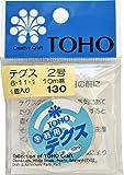 TOHO テグス 太さ約0.23mm×約10m巻 2号 スキ 6-11-1