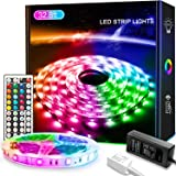LED Strip Light 32.8ft/10M, Xkey Led Lights Color Changing RGB SMD 5050 300Leds LED Strip Light Kit with 44 Keys IR Remote Co