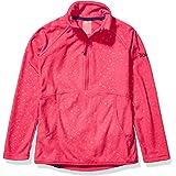 Roxy Snow Big Cascade Girl Fleece, Beetroot Pink RISINGPEAK Emboss
