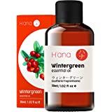 Hana Wintergreen Essential Oil - Clears Up Breathing and Relaxes Muscle Aches - To Feel Refreshed - 100 Pure Therapeutic Grad