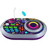 eKids Trolls World Tour DJ Trollex Party Mixer Turntable Toy for Kids Toddler Children, Built in Microphone, Record, Sound Ef