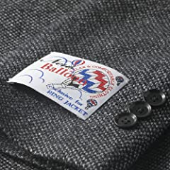 Birdseye New Baloon Wool Jacket BYJ-05: Grey