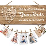 Grandma Gifts Grandma Photo Holder, Gifts for Grandma from Granddaughter and Grandson, Grandkids Grandpa Nana Grandmother Pic