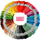 Premium Rainbow Color Embroidery Floss ? Cross Stitch Threads ? Friendship Bracelets Floss ? Crafts Floss ? 105 Skeins Per Pa