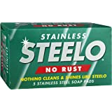 Steelo Stainless Soap Pads Metalware Polish Cleaner (Count of 5)