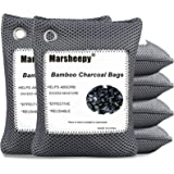 Marsheepy 6 Pack Activated Charcoal Air Purifying Bags, Bamboo Charcoal Bags, Activated Charcoal Odor Absorber, Odor Eliminat