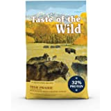 Taste of the Wild Grain Free High Protein Real Meat Recipe High Prairie Premium Dry Dog Food, 28 lb