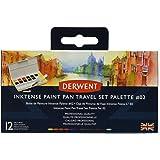Derwent Inktense Number 2 Paint Pan Travel Set