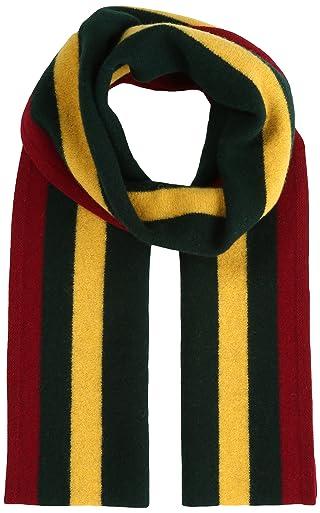 School Muffler 11-45-0213-247: Wine / Green / Yellow