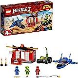 LEGO NINJAGO Legacy Storm Fighter Battle 71703 Ninja Playset Building Toy for Kids Featuring Ninja Action Figures, New 2020 (