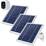 iTODOS 3 Pack Solar Panel Compatible with Arlo Pro 2, 11.8Ft Outdoor Power Charging Cable and Adjustable Mount ,Not for Arlo