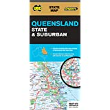 Queensland State & Suburban Map 470 26th ed