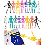 UpBrands Stretchy Toys Bulk Pack 8 Glitter Colors, Kit for Birthday, Halloween Party Favors for Kids, Goodie Bags, Easter Egg