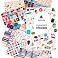 Clever Fox Planner Stickers Set - Monthly, Weekly & Daily Planner Stickers 17 Sheets Set of 1500+ Unique Stickers (Value Pack
