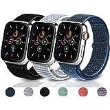 コンパチブル Apple Watch バンドアップルウォッチ バンド 38mm 40mm 42mm 44mm ナイロンバンド コンパチブル アップルウォッチ バンド 適応 iWatch Series SE 6 5 4 3 2 1 (42mm/44mm