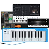 Arturia Microlab Keyboard Controller, Blue