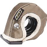 "Design Engineering 010140 T3 Titanium Turbo Shield - Custom Fit Turbo Blanket, 19"" x 2.5"""