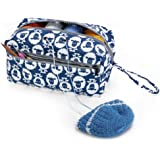 Luxja 毛糸収納 バッグ 毛糸 編み針(10インチ・25.5cm以下) 編み物用品 収納(L,羊)