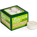Murphy's Naturals Mosquito Repellent Tea Light Candles | Outdoor Citronella Candles for Patio, Yard and Garden | Rosemary, Pe