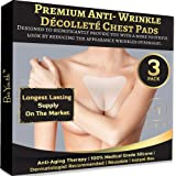 Wrinkle Pads Chest Pad Silicone Pad Reusable for Chest Wrinkles ? 2 Count and Free EBOOK - Decollette Pad for Chest Wrinkles
