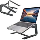 """Macally Aluminum Laptop Stand for Home & Office Desks - Fits All Notebooks from 10"""" to 17.3"""" - Apple MacBook 12"""" 13"""" Pro Air,"""