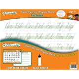 """Dry erase magnetic 2 Pak Channie's Quick & Neat Cursive Handwriting board Size 8.5"""" x 11"""""""