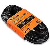 Wirefy 14/2 Low Voltage Landscape Lighting Wire - 14-Gauge 2-Conductor 100 Feet