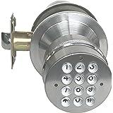 SoHoMiLL YL 99 Keyless Electronic Keypad Lock, Adjustable Latch Backset 2 3/8-Inch to 2 3/4-Inch, Satin Nickel