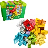 LEGO DUPLO Classic Deluxe Brick Box 10914 Starter Set with Storage Box, Great Educational Toy for Toddlers 18 Months and up,