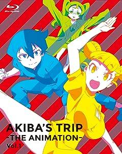 【Amazon.co.jp限定】「AKIBA'S TRIP -THE ANIMATION-」Blu-rayボックスVol.1(全巻購入特典:描き下ろし全巻収納BOX引換シリアルコード付)