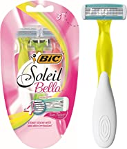 BIC Soleil Bella Sun-Twist Disposable Women's Razors - Pack of 3