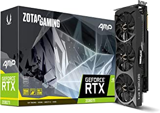 ZOTAC GAMING GeForce RTX 2080 Ti AMP Edition グラフィックスボード VD6718 ZTRTX2080Ti-11GGD6AMP