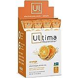 Ultima Replenisher Electrolyte Hydration Powder, Orange, 20 Count Stickpacks - Sugar Free, 0 Calories, 0 Carbs - Gluten-Free,