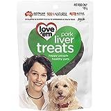 Love 'Em Pork Liver Treats 100g, Small/Medium/Large, Puppy