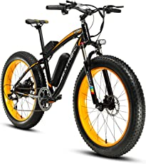 Cyrusher XF660 FATBIKE 17×26インチ マウンテンバイク アルミフレーム電動自転車シマノ7段変速