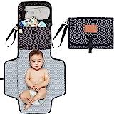 Baby Diaper Changing Pad - Portable Waterproof Diaper Changing Mat - Folding Diaper Changing Station - Travel Diaper Change P